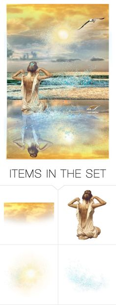 """Seaside Serenity"" by reggiano ❤ liked on Polyvore featuring art and 341"