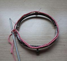 Mis obsesiones de hoy: Tutorial : monedero con boquilla / How to do : crochet purse with frame