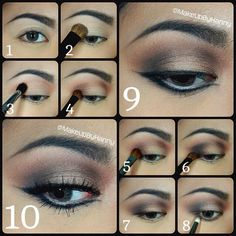 Eyes: @Too Faced Cosmetics - Chocolate Bar Palette.. White Chocolate as base colour (all over the lid up to brow bone).. Salted Caramel as transition colour.. Semi-Sweet, Haute Chocolate on the crease.. Triple Fudge focus on the outer-v, also on the inner crease to deepen it.. Marzipan on the center lid.. Gilded Ganache smoked it along the lower lash line.. Line the eyes using MAC Fluidline in Blacktrack along the upper & lower lashline..