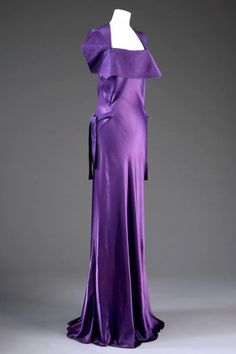 Jeanne Lanvin Dress 1925.