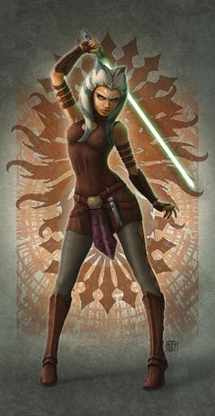 My name is Ahsoka Tano, former Jedi and Padawan of Anakin Skywalker