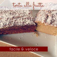 Questa è la nostra ricetta dolce del momento: una torta alla frutta ma facile e…