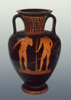 Attic red-figured amphora (c.500 BC) - Hermitage Museum