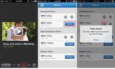 Learn how to save a video slideshow to your iphone's camera roll with the ProShow Web app  #proshow #app