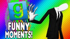 Gmod Stop It Slender Funny Moments - Just Keep Running, Behind You, Slender Touched Me (Garry's Mod)