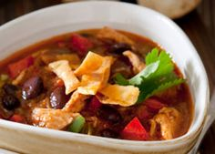 Mexican Black Bean Soup – Makes a great snack, side dish, or meal with just 15 grams of carbohydrate in 1 cup.