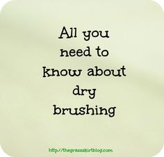 all you need to know about dry brushing. I'm told dry brushing before wrapping helps maximize results. I can't wait to get my brush and wrap some more! Cellulite Exercises, Cellulite Remedies, Cellulite Workout, Knee Exercises, Fibromyalgia Exercise, Dry Brushing Skin, Massage, Reduce Cellulite, Beauty Secrets