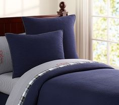 Kingston Quilted Bedding #pbkids;  $99 if not reversible