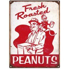 Amazon.com: Retro Circus Peanuts Tin Sign: Home & Kitchen
