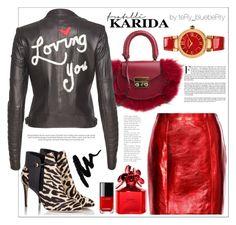 """Fratelli Karida: III."" by teryblueberry ❤ liked on Polyvore featuring SALAR, Fratelli Karida, Alice + Olivia, Yves Saint Laurent, Marc Jacobs and Versace"