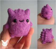 These tiny felt Pokémon characters come in the most adorable sizes