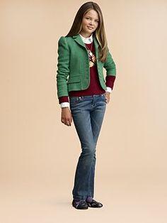 Ralph Lauren - Girl's Tweed Jacket