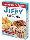"""""""JIFFY"""" Mix . America's Favorite . From Chelsea Milling Company"""