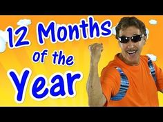 Learn the months of the year in this fun calendar and exercise video for kids. Sing the 12 months of the year while exercising with Jack. Lyrics 12 months of. Math Songs, Kindergarten Songs, Phonics Song, Fun Songs, Months Song, Months In A Year, 12 Months, Preschool First Day, Preschool Music