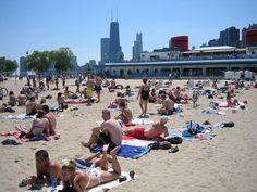 photos of fullerton ave. beach in chicago | Chicago Beaches: Enjoy Them Today! - Chicago Getaway Hostel