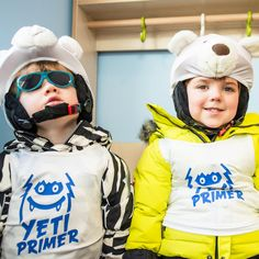 #YetiPrimers look dressed to impress and ready to go #skiing.