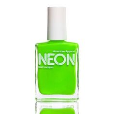 American Apparel Nail Lacquer in Neon Green
