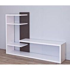 Entertainment Unit for TVs up to Tv Unit Furniture, Home Decor Furniture, Diy Home Decor, Furniture Design, Tv Cabinet Design, Tv Wall Design, Shelf Design, Tv Unit Decor, Tv Wall Decor