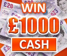 Win Money UK - LREC.ORK.UK - Daily Winnings of £1000!