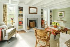 Tour a Charming English-Style Cottage in East Hampton - Hamptons Cottages & Gardens - June 2018 - Hamptons