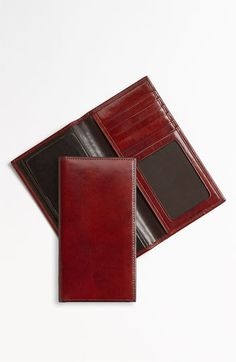 Bosca 'Hugo Bosca - Old Leather' Checkbook Wallet available at #Nordstrom