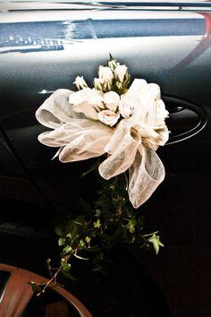 wedding car decoration, just married, auto de lujo, boda