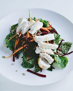 Summer Salad With Homemade Calendula Oil #recipe #food #healthy