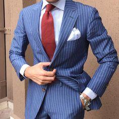 #Pinstripe #suit