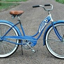 Considering it. 1952 Classic Vintage Schwinn Ladies Ballooner Cruiser Bike 455