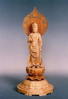 聖観音像 | 仏像販売・仏像彫刻の専門店の仏像彫刻原田