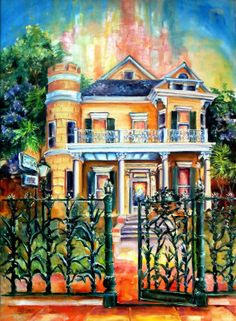 The Cornstalk Hotel  (home to numerous ghosts)  By Diane Milsap