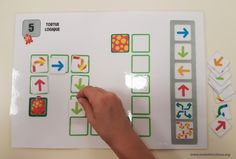 Tortue logique Travailler la programmation en maternelle - CP