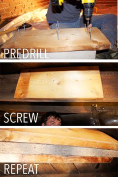 Image result for leveling floor joists sistering diy bathroom here is our adventure with a diy sagging floor solutioingenieria Choice Image