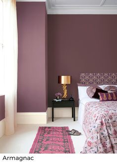 Colour Combination for Bedroom Wall Picture. Colour Combination for Bedroom Wall Picture. Wall Colour Bination for Small Bedroom Best Bedroom Colors, Bedroom Color Schemes, Purple Bedroom Walls, Purple Bedroom Design, Colour Schemes, Bedroom Wall Colour Ideas, Dark Purple Bedrooms, Plum Bedroom, Burgundy Bedroom