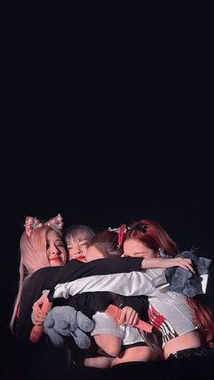Blackpink Hugging Each Other :) Blackpink Jisoo, Kim Jennie, K Pop, Blackpink Poster, Blackpink Funny, Lisa Blackpink Wallpaper, Black Pink Kpop, Blackpink And Bts, Blackpink Photos