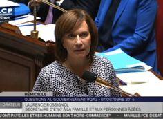VIDEO - La ministre de la Famille Laurence Rossignol encore très chahutée à l'Assemblée