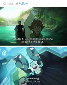 Pidge and Shiro is me and my friend in a project and my other friends are Lance and Hunk