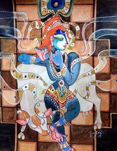 pepup street, krishna, hindu mythology, India, contemporary art, pep up street