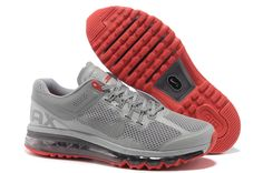 Nike Air Max+ 2013 Women's Running Shoes - Reflective Silver / Red