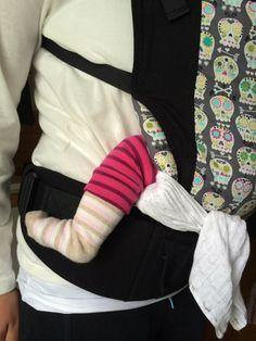 Kantorepun paneelin kaventaminen siinä vaiheessa, kun vauvatuki on jäänyt ahtaaksi, mutta paneeli on vielä liian leveä.