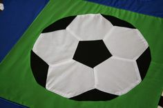 Fly Away Quilts: Quilted Soccer Ball, football, basketball