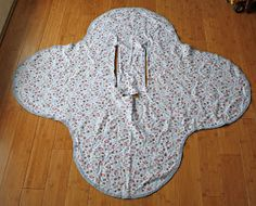 Running With Scissors: Car Seat Blanket pattern with measurements!