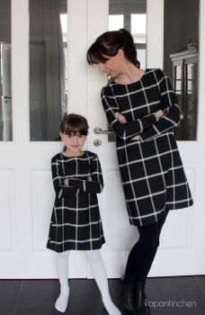 Ebook Schnittmuster A-Linien-Kleid MISS LONDON