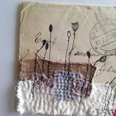 Hey, I found this really awesome Etsy listing at https://www.etsy.com/listing/491581035/original-mixed-media-collage-envelope
