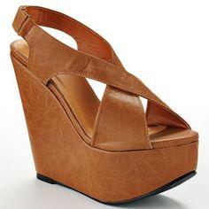 Sacred Heart Sweetie Platform Wedge Sandals