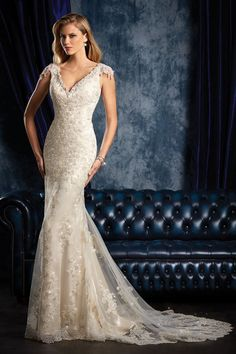 Style 956 by Alfred Angelo Sapphire