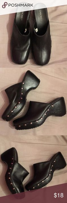 Cherokee Black Clogs NWOT Never worn, Size 8 Cherokee Shoes Mules & Clogs