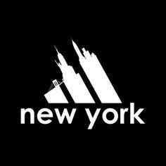 03a5a16e New York City Skyline Logo Men's T-Shirt by TrapMonkie - Cloud City 7  Skyline