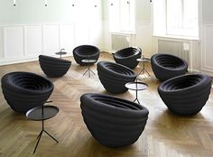 Beautiful tire chair pods