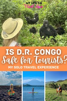 If you've been wondering how safe it is to travel the D.R. Congo as a tourist, then this guide is for you! I had lots of questions about safety before traveling here, especially since I intended to travel solo... but it ended up being one of the most beautiful countries I've ever seen. #congo #solotravel #solotraveltips #drcongo #travelguide #iscongosafe Best Solo Travel Destinations, Solo Travel Tips, 7 Natural Wonders, Travel Movies, Travel Articles, Travel Alone, Travel Light, Africa Travel, Plan Your Trip